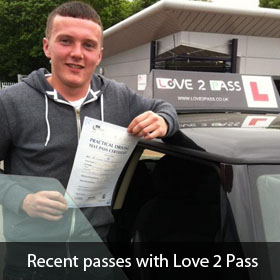 driving lessons in derby - love 2 pass driving school